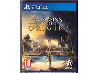 Assassins Creed Origins Brand new and Sealed