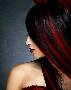 """Clip in hair extension, Straight hair, 60 cm, 24"""", 100g,  RED St. John's Newfoundland image 3"""