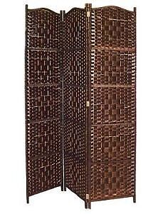 Wicker space/room divider