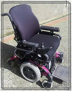 Invacare WheelChair Electric excellent condition $550 reg$1100