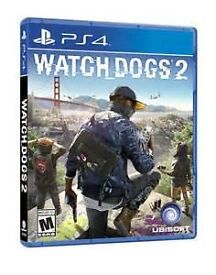 Brand New/Unopened Watchdogs 2 for PS4