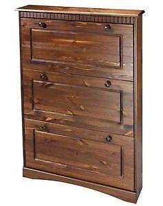 schuhschrank kiefer g nstig online kaufen bei ebay. Black Bedroom Furniture Sets. Home Design Ideas