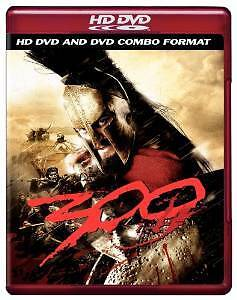 300 HD DVD & DVD Combo Format Like NEW - Starring Gerald Butler