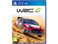 WRC 6 for PlayStation 4 (world rally championship) PS4