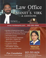 Insurance, Business & Litigation Lawyer in Mississauga & GTA