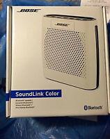 *Brand New* White Bose Soundlink Color Bluetooth Speaker