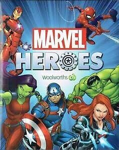 Wanted -Woolworths Marvel Heroes Discs Thornlie Gosnells Area Preview