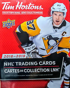 2018-2019 TIM HORTON'S HOCKEY CARDS FOR SALE/TRADE! SEE PHOTOS