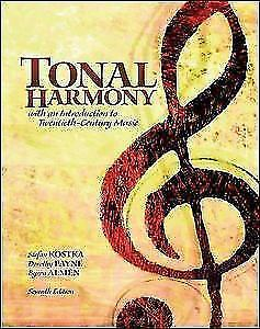 Workbook for Tonal Harmony by Stefan Books