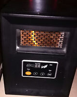 Comfort Zone Portable Electric Infrared Heaters