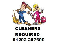 CLEANERS REQUIRED Work up to 20hrs per week Self employed cleaners Cleaning Houses and Offices