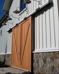 80' barn door tracking HEAVY DUTY