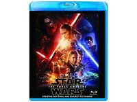 Star Wars The Force Awakens - Blue Ray - Brand New Unopened