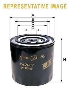 Oil Filter WIX WL7452