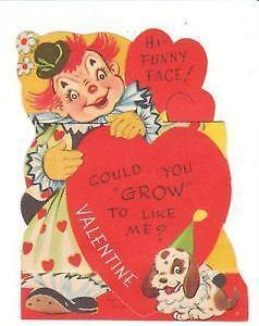 valentine cards ebay