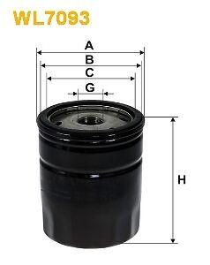 Oil Filter WIX WL7093