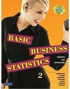 Basic Business Statistics: Concepts & Applications 2e - Berenson, Conder Tuggeranong Preview