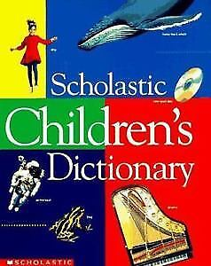 Colorful Scholastic Children's Dictionary
