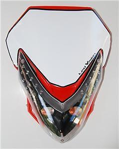 Head-light-R3-dual-sport-Honda-motorcycle-cr-crf-mx-xr-red-fairing-number-plate