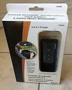 Centrios Freetalk Bluetooth Hands-Free In-Car Speakerphone NEUF