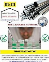 Metal Plating Toronto | Services | M&M Plating Inc.
