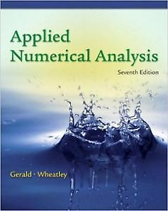 Applied Numerical Analysis (7th Edition)