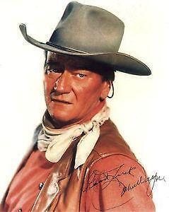 b2517c30eca John Wayne  Entertainment Memorabilia