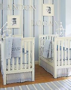 Pottery Barn Cars and Truck Crib Bedding