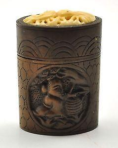 Chinese Carved Wood Boxes