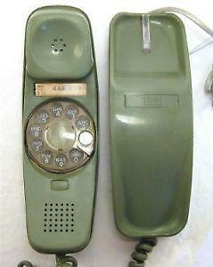 Green Rotary Phones