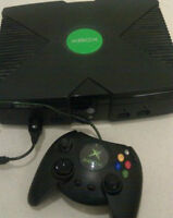 Xbox Original - with controller, cntrlr ext. cord and 3 games!!