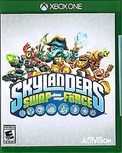 skylanders for xbox one ( portal - game disk - characters )