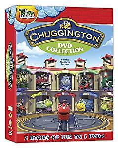 NEW unopened Chuggington DVD Collection 3 films/3 discs/3hours