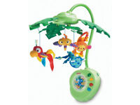 rain forrest cot mobile used once