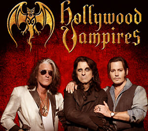 HOLLYWOOD VAMPIRES @ RAMA JULY 8 FIRST LEVEL HARD TICKETS