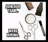 Experienced stylist/barber