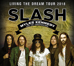 Slash Myles Kennedy & The Conspirators casino Rama floors