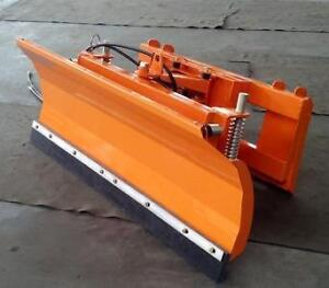 "NEW 86 "" SKID STEER ATTACHMENT SNOW PLOW DOZER BLADE ATTACHMENT HYDRAULIC"