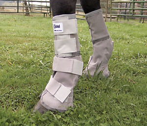 Cashel-Warmblood-LEG-GUARDS-Fly-Control-HORSE-TACK