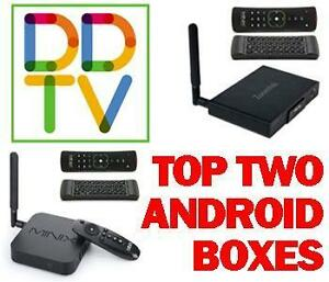 WATCH OUR DEMO VIDEO BEFORE YOU BUY ANY ANDROID TV BOX! 1 YR WARRANTY. 24/7 TECH SUPPORT. GREAT REVIEWS. FREE SHIPPING!