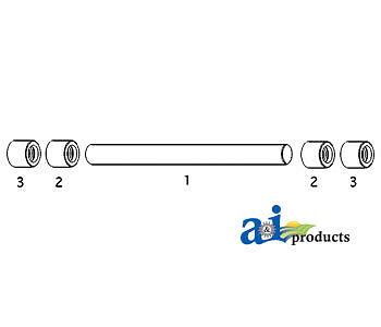 John Deere Parts Sensor Shaft L26932 21502040 1850 Sn 651779 1750 Sn 65