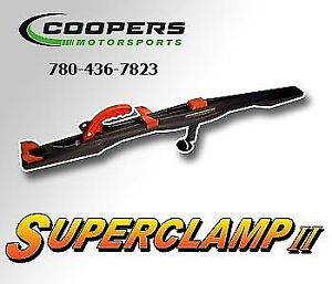 Superclamps we have alot and they are priced to sell, Coopers!