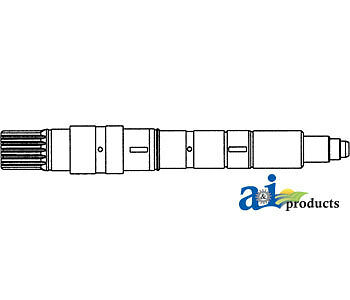John Deere Parts Input Shaft Ah109692 5830582057305720546054405400520054