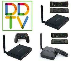 CYBER WEEK ANDROID TV BOX 5 DAY SALE -- CHECK OUR 5 STAR GOOGLE REVIEWS --- RATED #1 + USER FRIENDLY + 1 YR TECH SUPPORT
