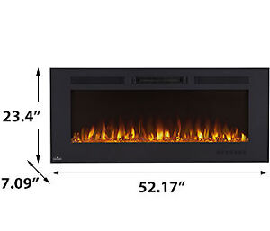 "New!  Napolean -50"" Wall Mount Electric Fireplace"