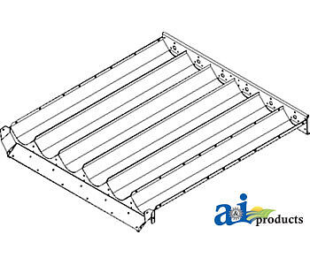 Compatible With John Deere Front Auger Trough Ah131235 7720 7721