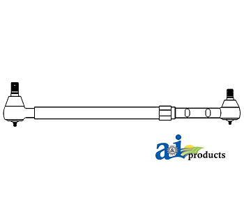 A-553329 Massey Ferguson Parts Tie Rod Assy Lh 245 285