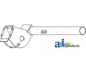 John Deere Parts Tube Assy Ah149180 9660cts96609650cts9560sh95609550sh955