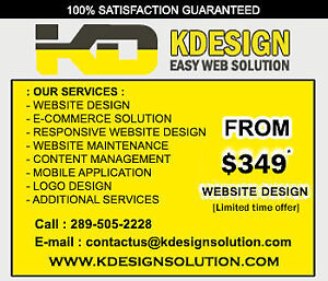 Responsive Website development - From $349/- (Limited offer)