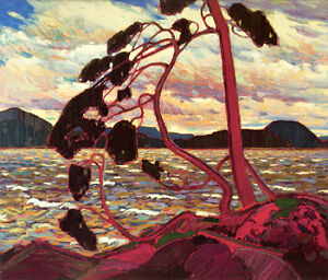 "Beautiful Tom Thomson ""The West Wind"" Studio Panel"